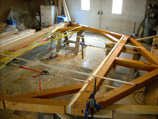 Timber frame construction in Southern Alberta houses cottages barns ...